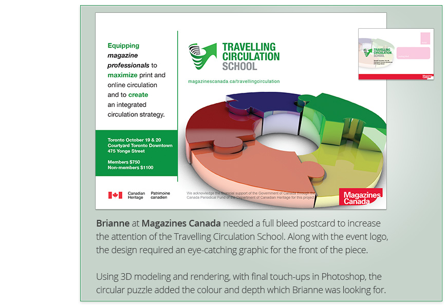 Press - Magazines Canada Travelling Circulation School